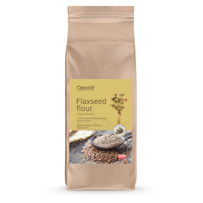 OstroVit - Flaxseed Flour / Ленено брашно / 500 гр