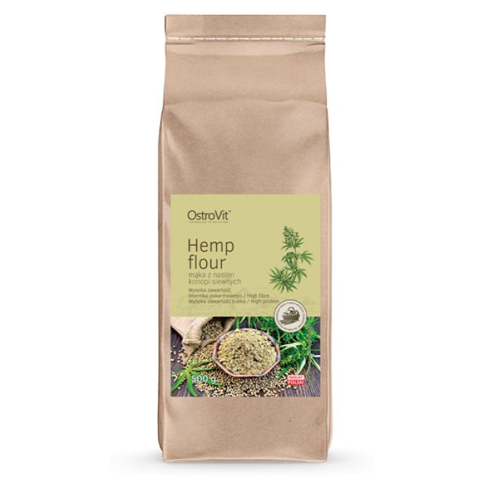 OstroVit - Hemp Flour / Конопено брашно / 500 гр