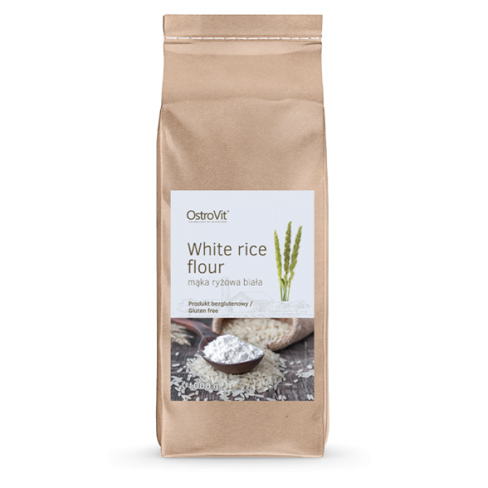 OstroVit - White Rice Flour / Оризово брашно / 1000 гр