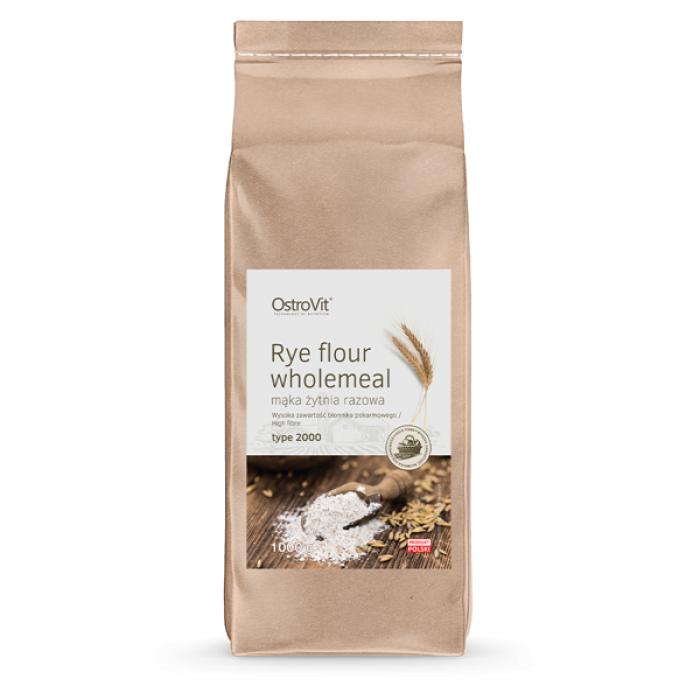 OstroVit - Oat Flour Whole Grain / Пълнозърнесто брашно / 1000 гр