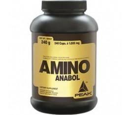 Peak - Amino Anabol / 240 caps Хранителни добавки, Аминокиселини, Разклонена верига (BCAA)