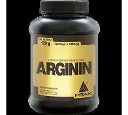 Peak - Arginin / 120 caps Хранителни добавки, Аминокиселини, Аргинин