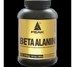 Peak - Beta Alanine / 240 caps Хранителни добавки, Аминокиселини, Бета-Аланин