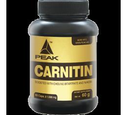 Peak - Carnitin / 100 caps Хранителни добавки, Отслабване, Л-Карнитин