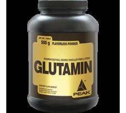 Peak - Glutamin / 500 gr. Хранителни добавки, Аминокиселини, Глутамин