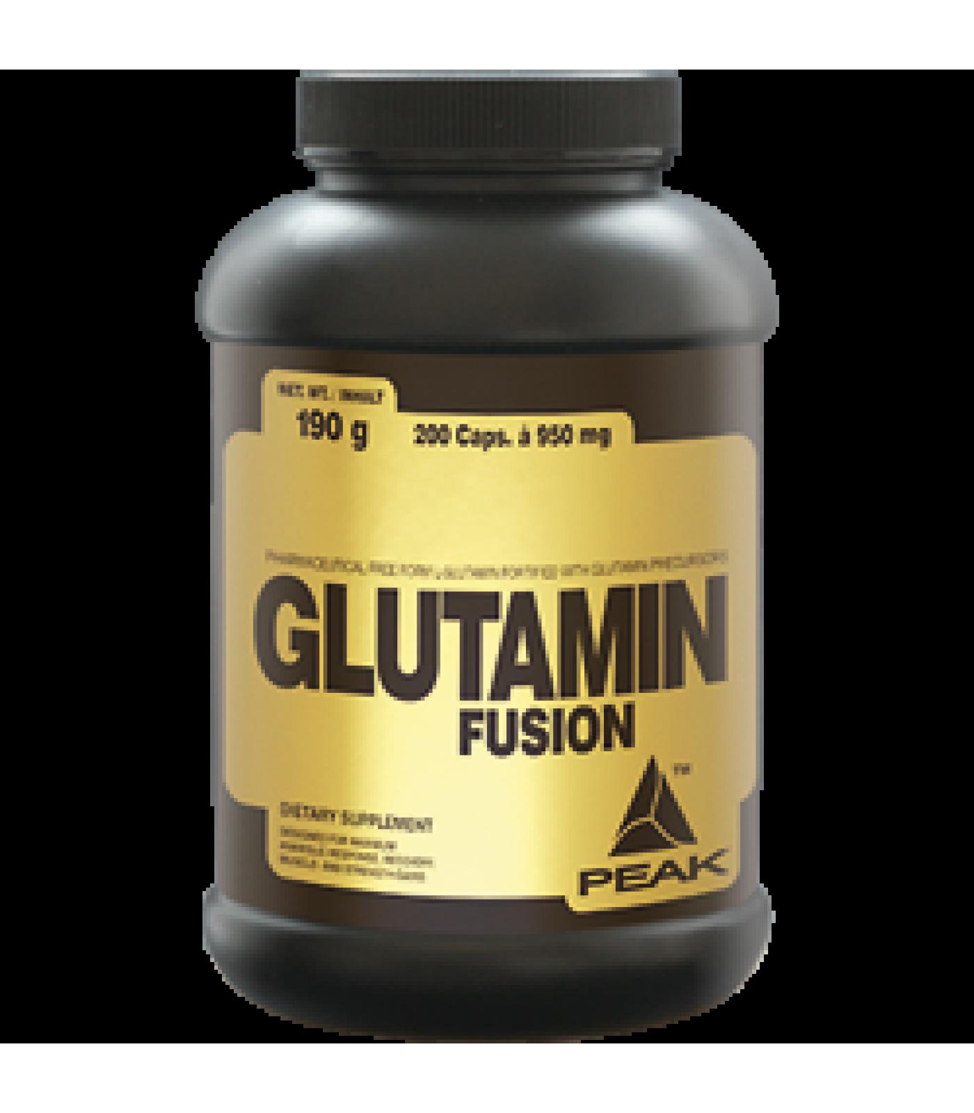 Peak - Glutamin Fusion / 200 caps