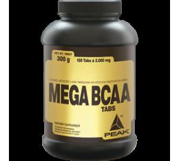 Peak - Mega BCAA / 150 caps Хранителни добавки, Аминокиселини, Разклонена верига (BCAA)