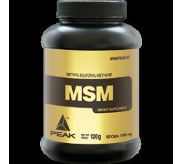 PEAK - MSM (Methylsulfonylmethan) / 120 caps Хранителни добавки, За стави и сухожилия