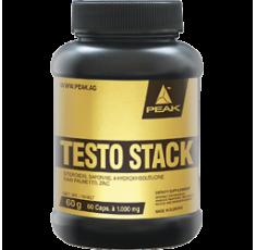 Peak - Testo Stack / 60 caps Хранителни добавки, Стимулатори за мъже