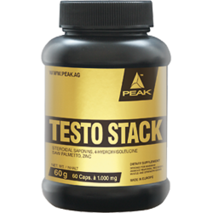 Peak - Testo Stack / 60 caps
