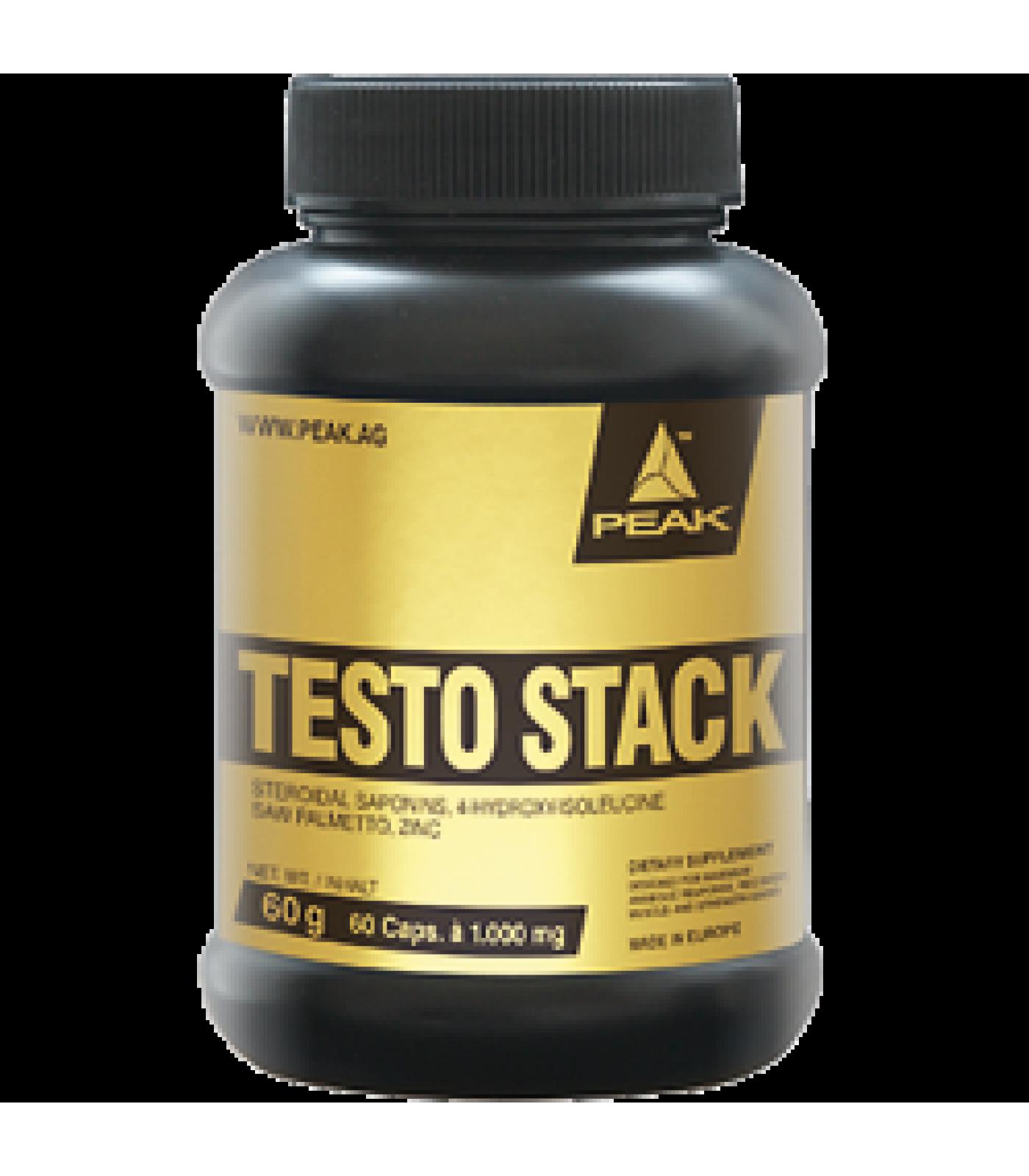 Peak - Testo Stack / 60 caps