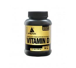 Peak - Vitamin D / 180 tab Хранителни добавки, Витамини, минерали и др., Витамин D