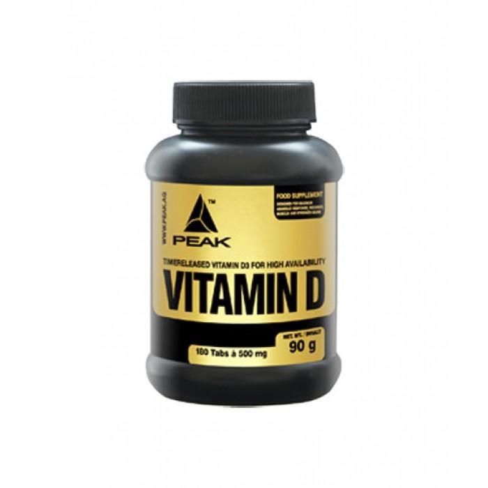 Peak - Vitamin D / 180 tab