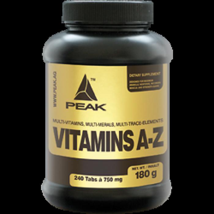 Peak - Vitamins (A-Z) / 180tab