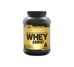 Peak - Whey-Amino (Ultra Amino)  / 300 tab Хранителни добавки, Аминокиселини, Комплексни аминокиселини