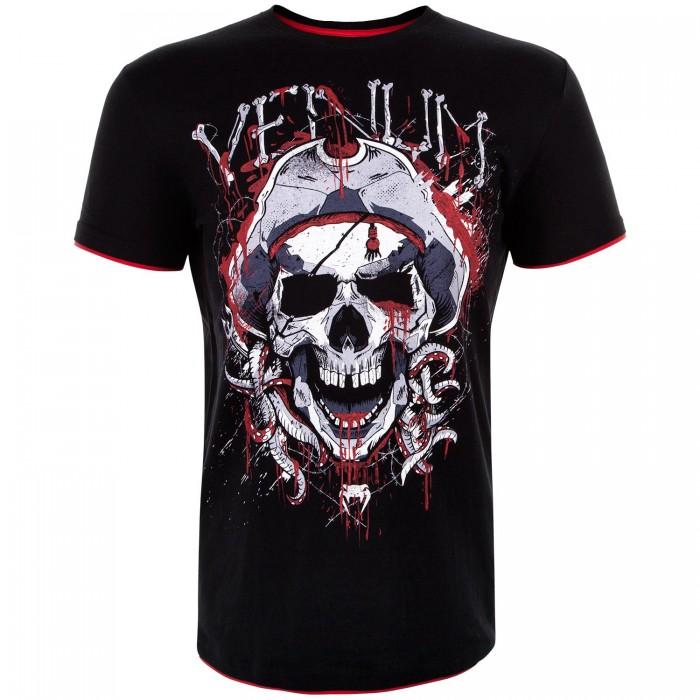 Тениска - Venum Pirate 3.0 T-shirt - Black/Red
