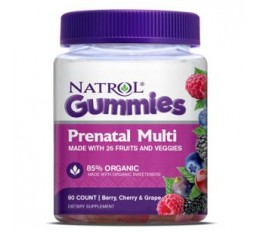 Natrol - Prenatal Multi Gummies / 90 таблетки Хранителни добавки, Витамини, минерали и др., Мултивитамини