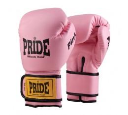 Pride Sport - Ръкавици за бокс - розов цвят Бойни спортове и MMA, Боксови ръкавици