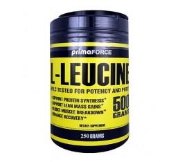 Primaforce - L-Leucine / 250 gr Хранителни добавки, Аминокиселини, Леуцин