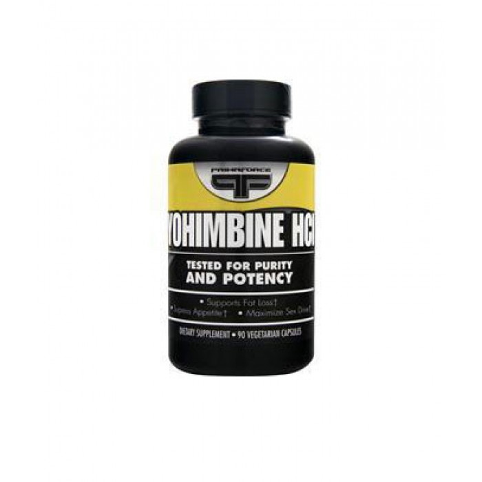 Primaforce - Yohimbine HCL 2.5mg / 90 Vcaps​