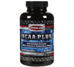 Prolab - BCAA Plus / 180 caps Хранителни добавки, Аминокиселини, Разклонена верига (BCAA)