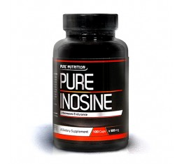 Pure Nutrition - 100% Pure Inosine / 100caps.