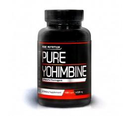 Pure Nutrition - 100% Pure Yohimbine / 100caps. Хранителни добавки, Отслабване, Йохимбин
