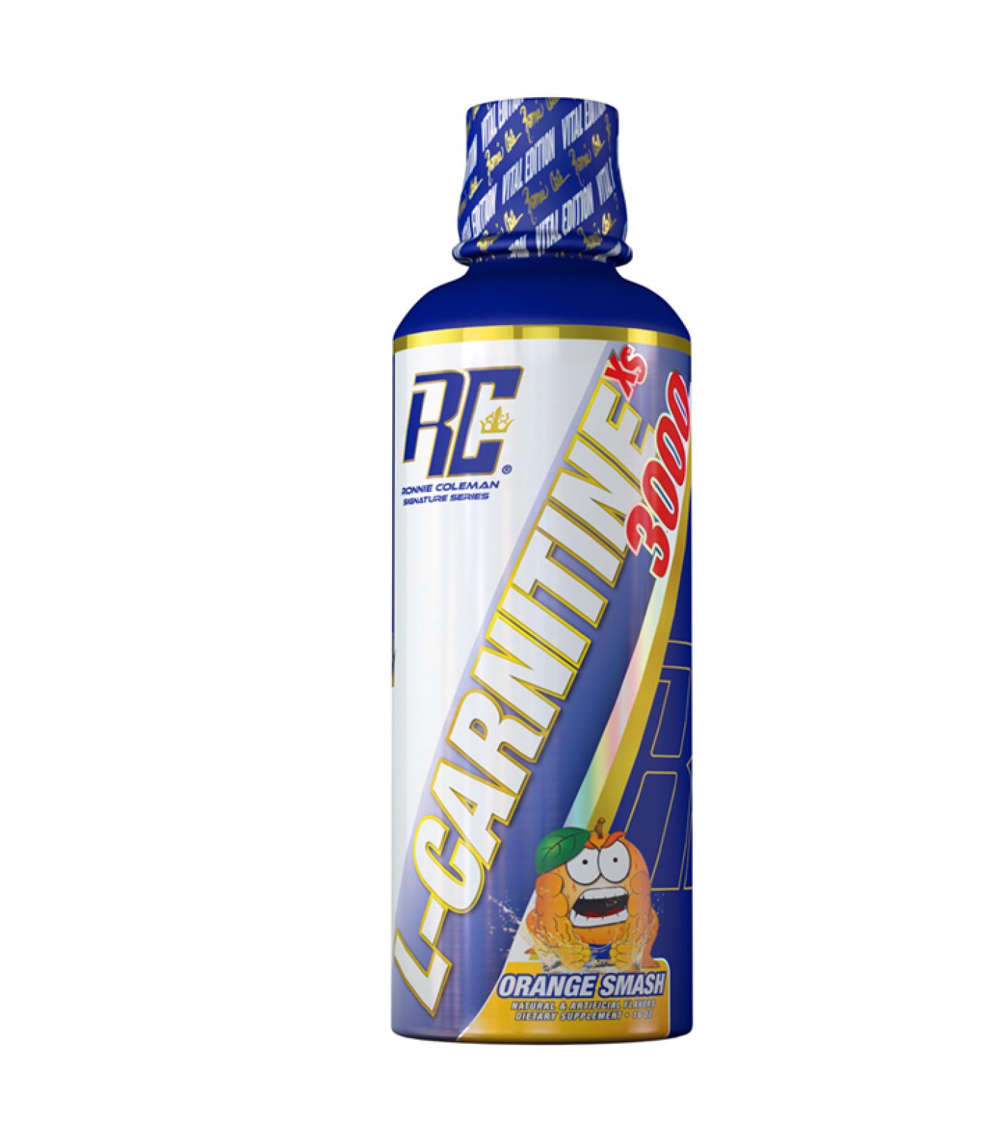 Ronnie Coleman - L-Carnitine XS 3,000 mg Liquid / 473 ml.