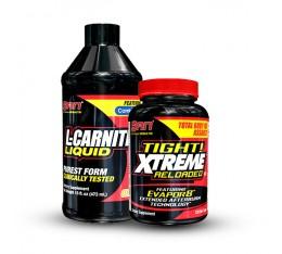 SAN - течен л-карнитин + фетбърнър Tight! Xtreme Отслабване, Л-Карнитин, Фет-Бърнари, СТАКОВЕ, Хранителни добавки на промоция