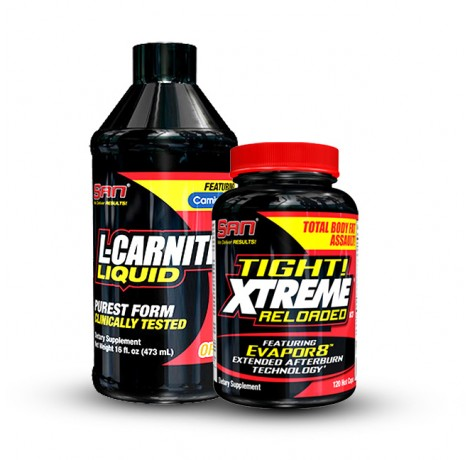 SAN - течен л-карнитин + фетбърнър Tight! Xtreme