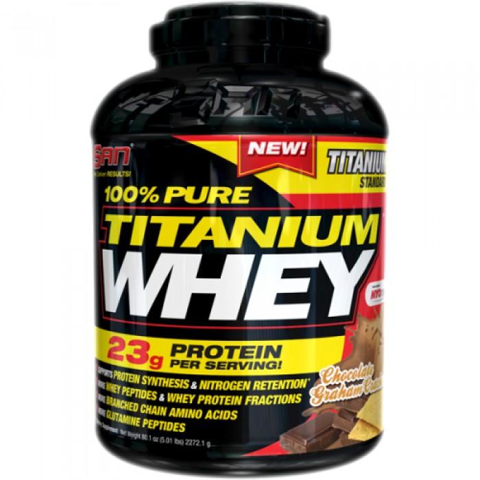 SAN - Pure Titanium Whey / 450 gr.
