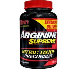 SAN - Arginine Supreme / 100 tab Хранителни добавки, Аминокиселини, Аргинин