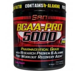 SAN - BCAA Pro 5000 / 345 gr Хранителни добавки, Аминокиселини, Разклонена верига (BCAA)