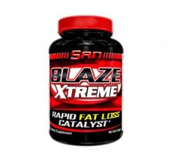 SAN - Blaze Xtreme / 96 gel caps Хранителни добавки, Отслабване, Фет-Бърнари