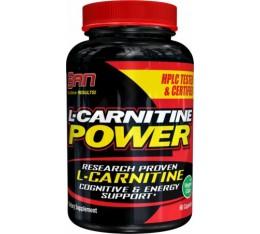 SAN - L-Carnitine Power / 60 caps Хранителни добавки, Отслабване, Л-Карнитин