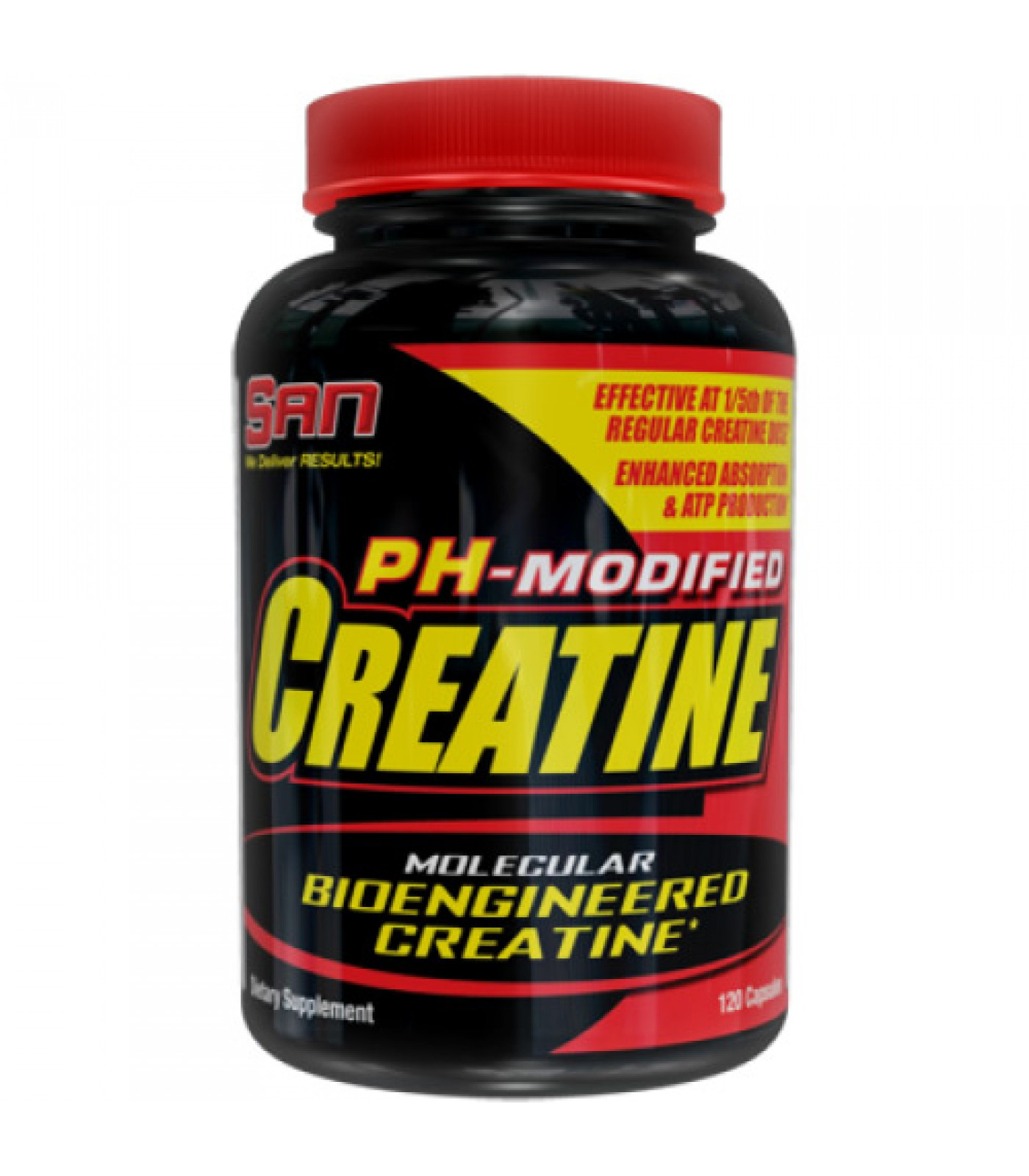 SAN - PH Controlled Creatine / 120 caps
