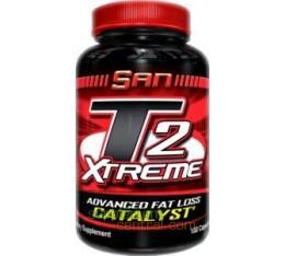 SAN - T2 Xtreme / 180 caps Хранителни добавки, Отслабване, Фет-Бърнари