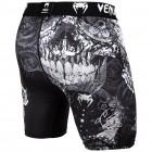 Тренировъчен клин с къси крачоли - Venum Santa Muerte 3.0 Compression Shorts - Black/White