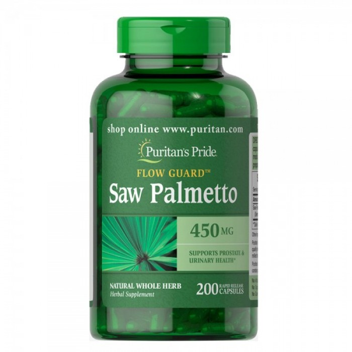 Puritan's Pride - Saw Palmetto / 450 мг - 100 капсули​
