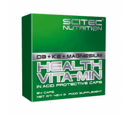 Scitec - Health Vita-Min 54 caps. Хранителни добавки, Витамини, минерали и др., Мултивитамини