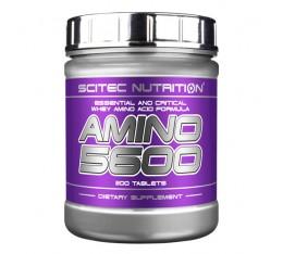 Scitec - Amino 5600 / 1000 tab. Хранителни добавки, Аминокиселини, Комплексни аминокиселини