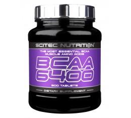 Scitec - BCAA 6400 / 375 tab. Хранителни добавки, Аминокиселини, Разклонена верига (BCAA)