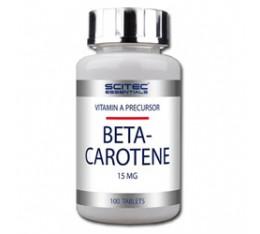 Scitec - Beta Carotene / 90 caps. Хранителни добавки, Витамини, минерали и др., Витамин A