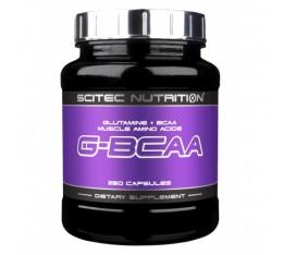 Scitec - G-BCAA / 250 caps. Хранителни добавки, Аминокиселини, Разклонена верига (BCAA)