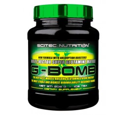 Scitec - G-Bomb / 500 gr. Хранителни добавки, Аминокиселини, Глутамин