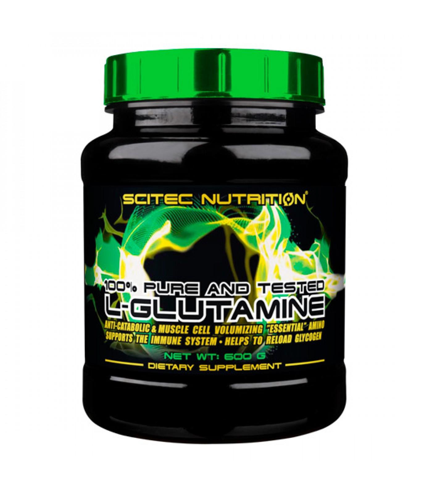Scitec - 100% Glutamine / 600 gr.