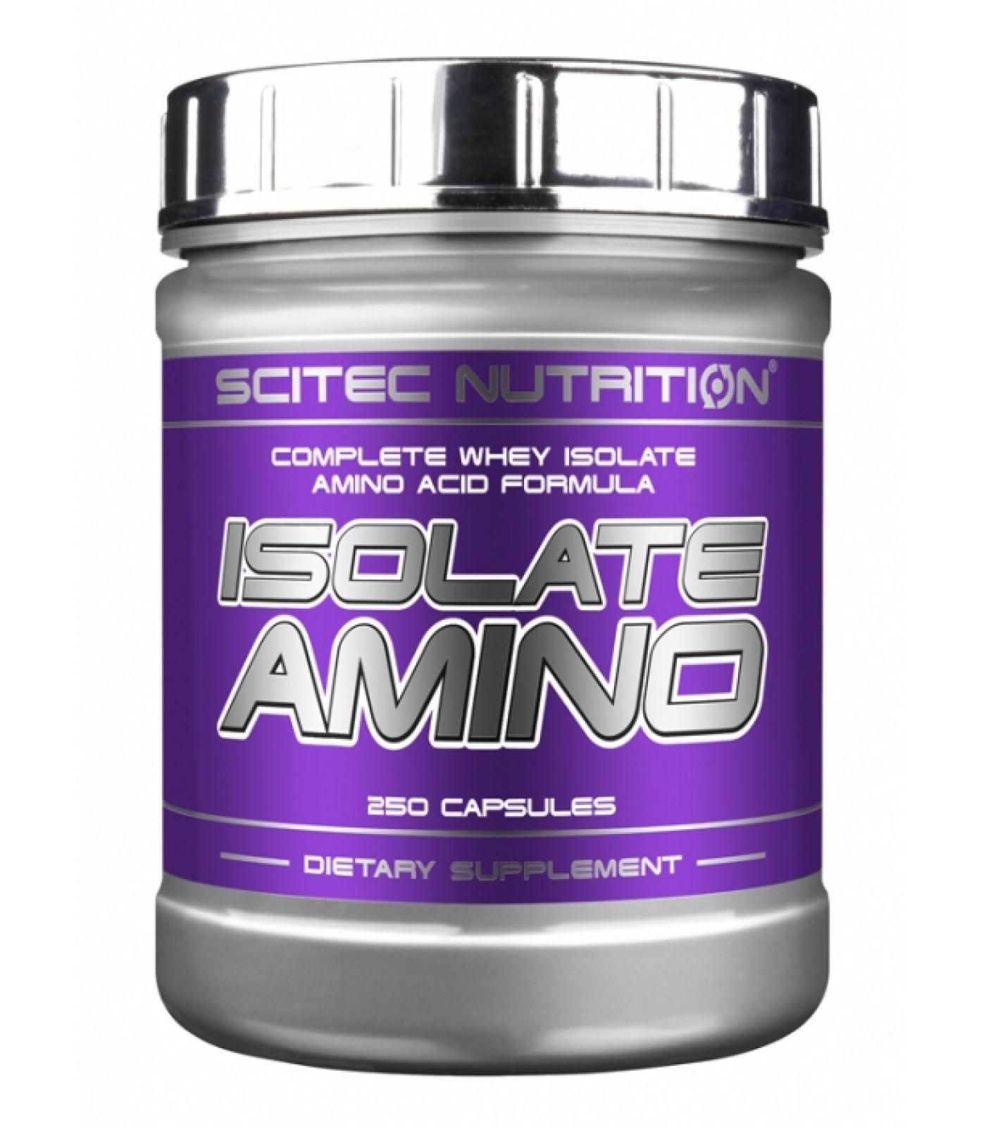 Scitec - Isolate Amino / 500 caps
