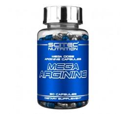 Scitec - Mega Arginine / 140 caps. Хранителни добавки, Аминокиселини, Аргинин