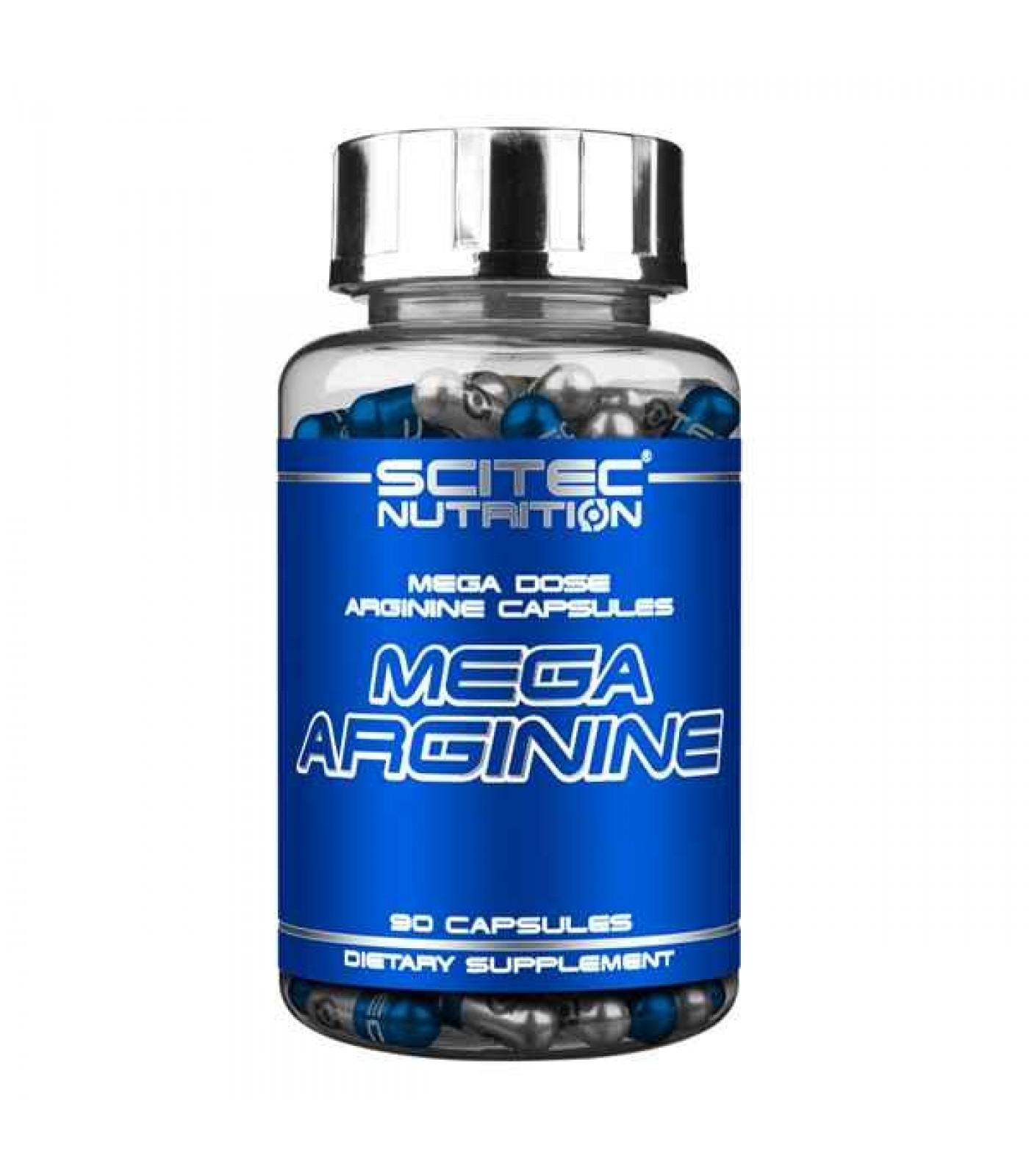 Scitec - Mega Arginine / 90 caps.