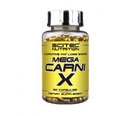 Scitec - Mega Carni-X / 60 caps. Хранителни добавки, Отслабване, Л-Карнитин